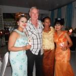 Ross & Phara's Mum with the girls