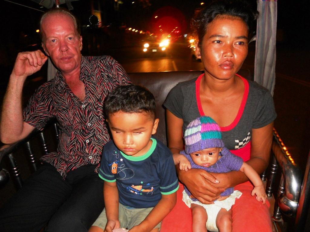 Nick, Sambart, Mum & baby sister.