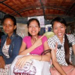On the way in a Tuk.